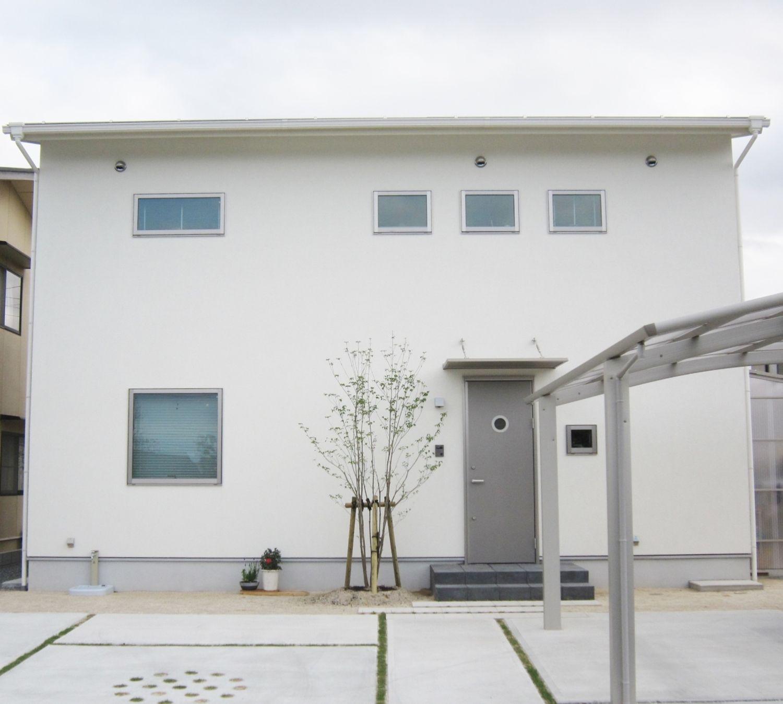 ナチュラルな質感のシンプルなお家 島根県で注文住宅を建てるタケシバ