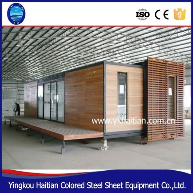 Source Modular Living Folding Shipping Prefabricated Wooden House Kit Price  Low Cost Modern Design Expandable Container