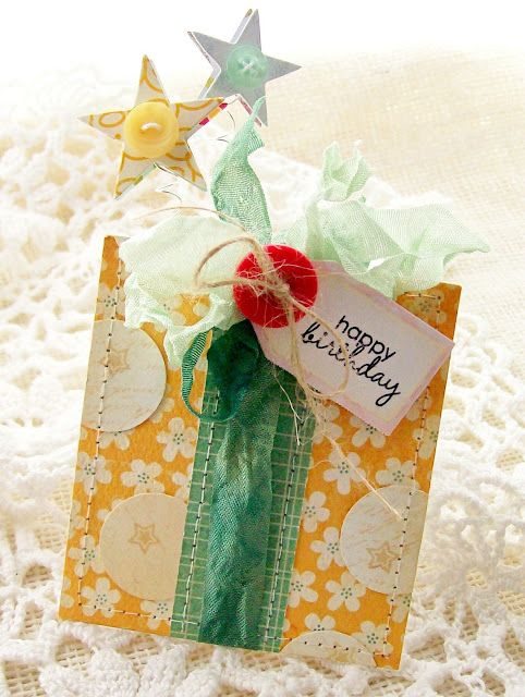 Happy Birthday Pocket for Gift Card