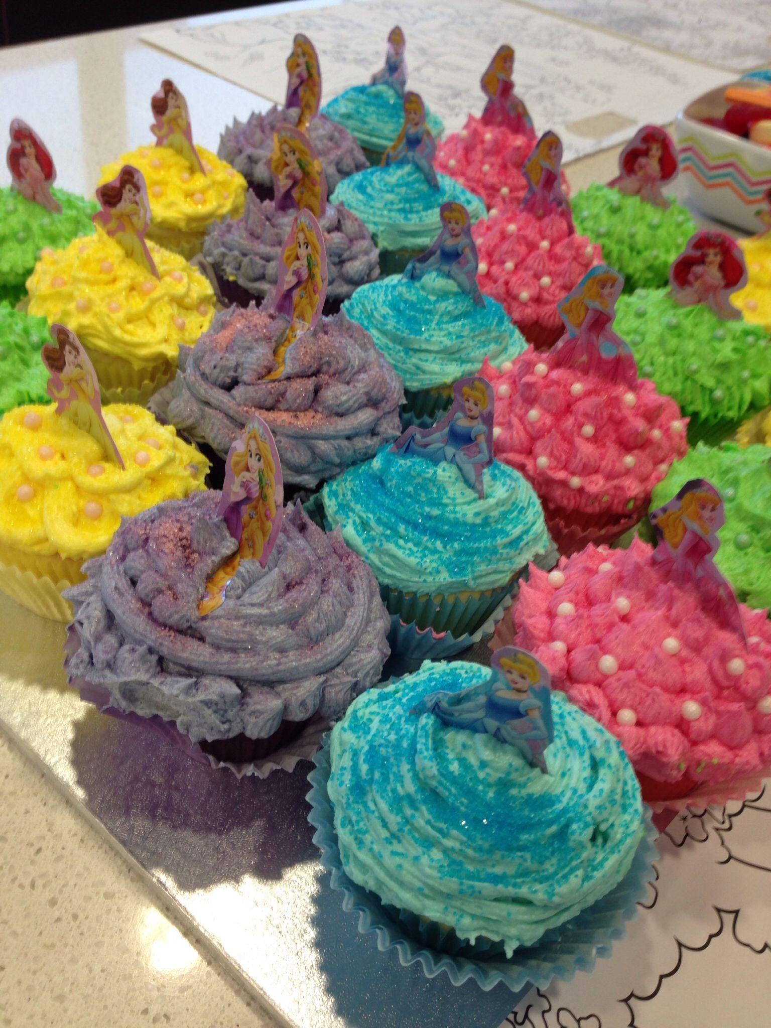 Disney princess cupcakes disney princess cupcakes diy