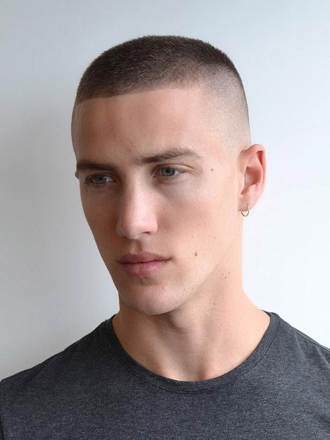 20 Masculine Buzz Cut Examples Tips How To Cut Guide Buzz