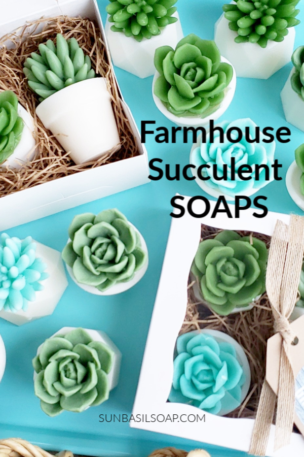 Our Farmhouse Succulent Soap Gift Set Is Our New Favorite Handmade Gift To Give Th Birthday Flowers For Her Birthday Gifts For Best Friend Best Friend Gifts