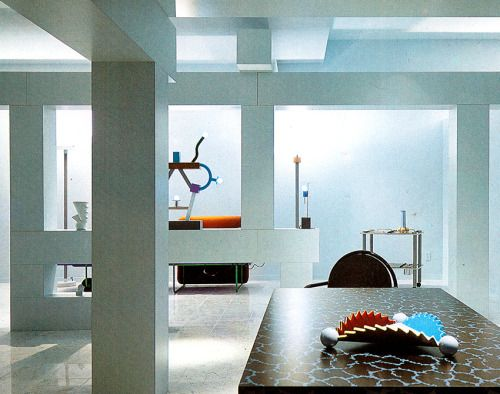 Ettore Sottsass Marco Zanini And Tony Smart Grace Design Showroom Dallas 1984