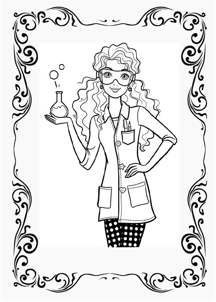 Pin By Melina Dros On Unicorn Club Coloring Pages Barbie Coloring Pages Cute Coloring Pages Barbie Coloring