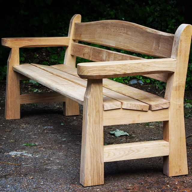 Memorial Bench Just Delivered. New Seat Design, Very Comfortable. Client  Over The Moon