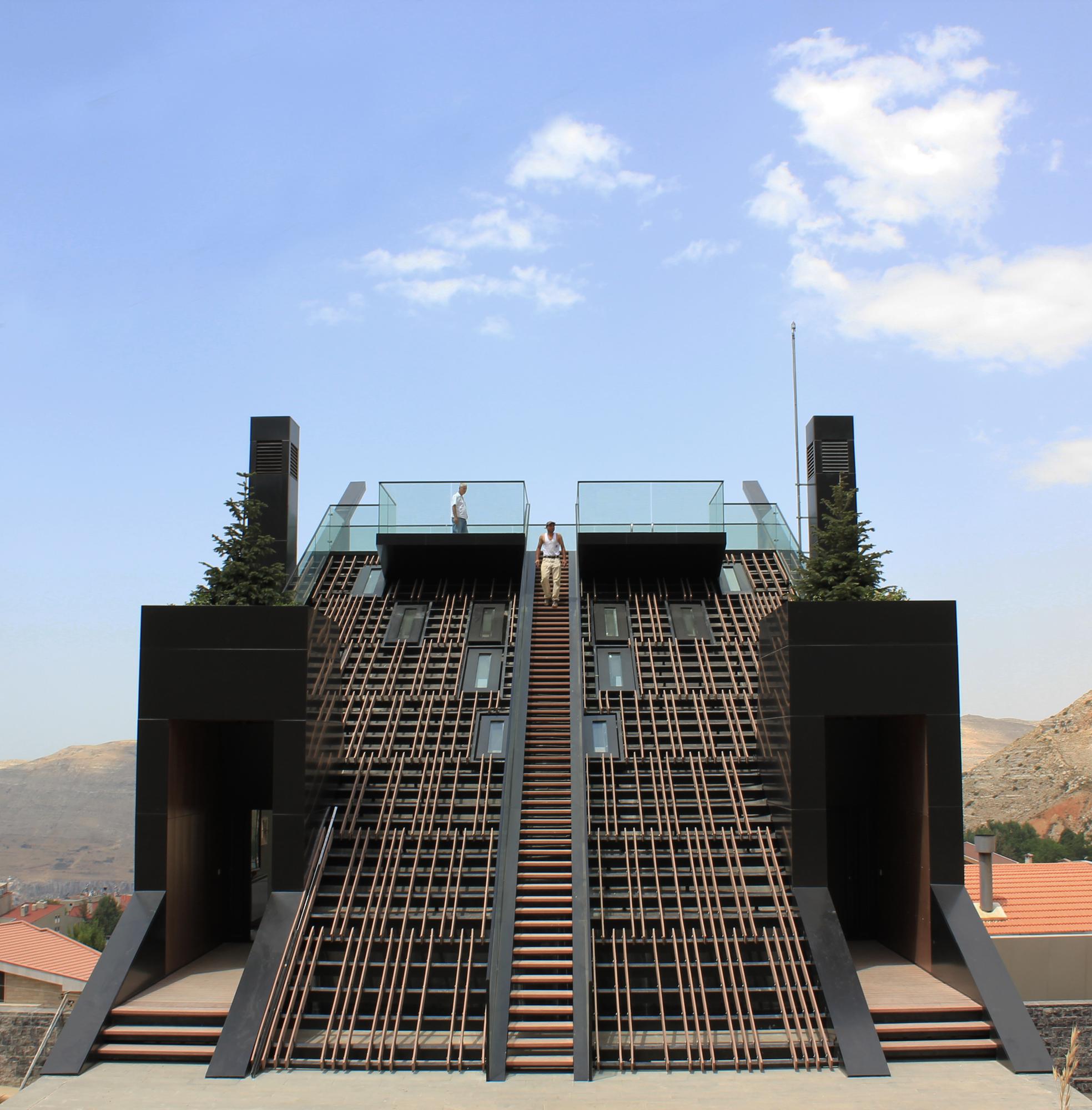 Plot 4328 Bernard Khoury Architects Architects Architecture