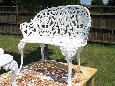 tools are for women too how to paint cast iron furniture rh pinterest ch