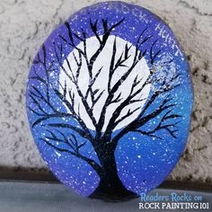 Photo of How to quickly make a beautiful gradient base coat – Rock Painting 101