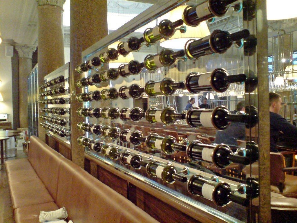 Bottle Storage Display Cabinet