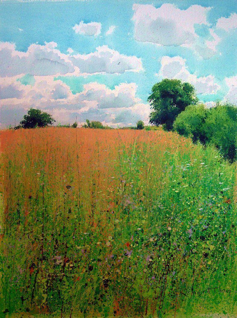 Richard Thorn.  Watercolor