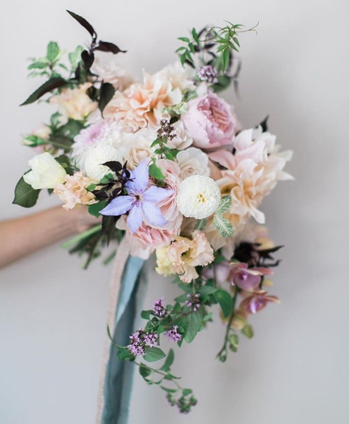 Myrtle Et Olive Nadia Hung Photography Cheap Wedding Flowers Purple Wedding Flowers Wedding Flower Decorations