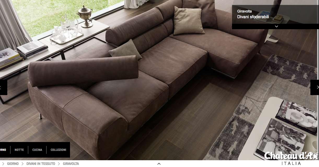 divano giravolt configurazione 2 chateau d'ax | soggiorno e divani ... - Soggiorno Living Chateau Dax