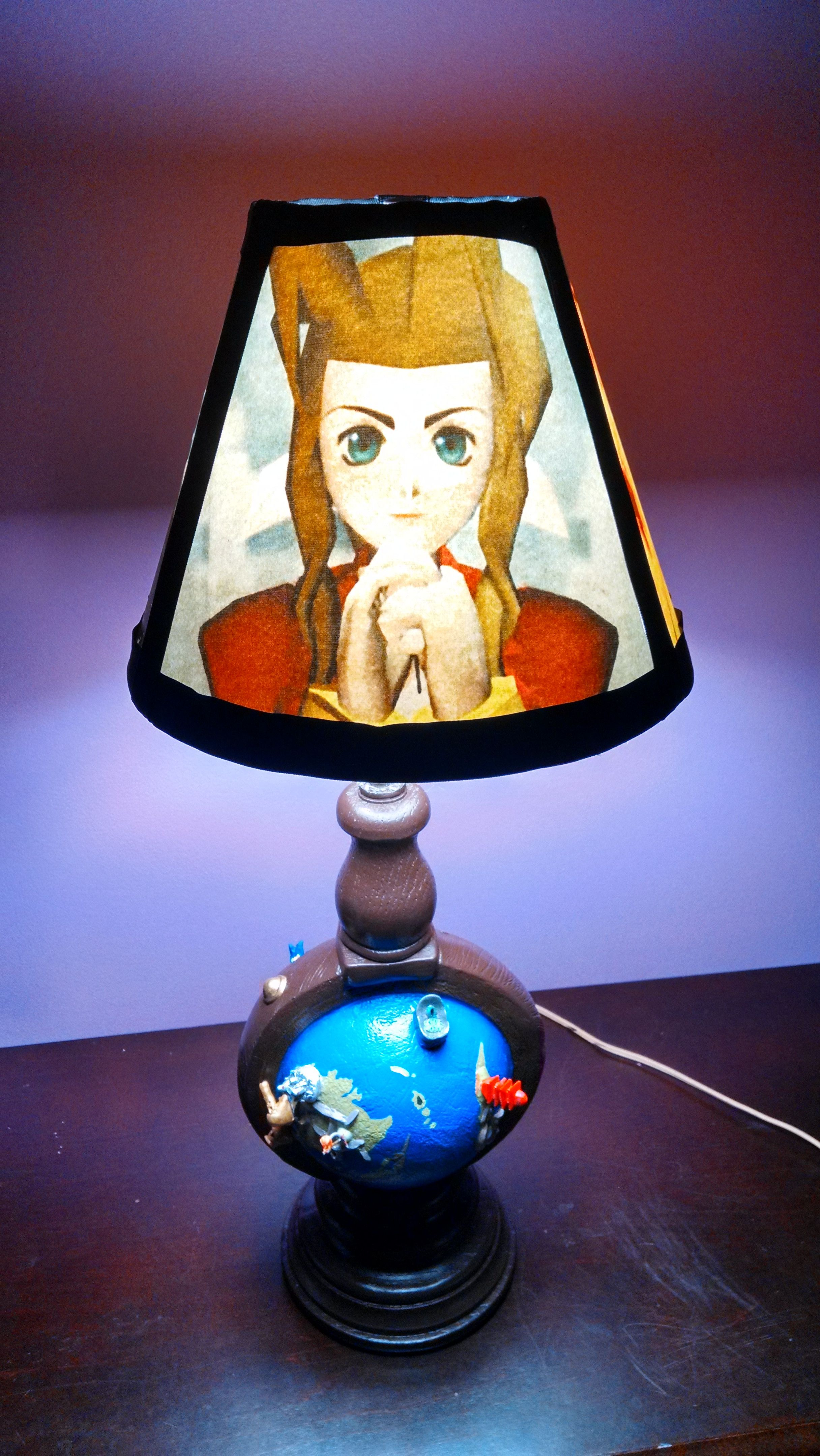 Final Fantasy VII lamp