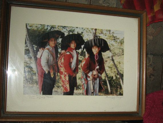 VINTAGE ASIAN  CHINESE  Framed photography  by Linsvintageboutique, $74.50