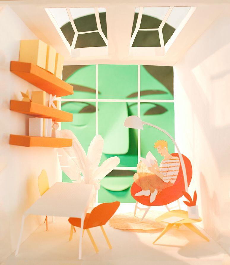 Maëlle Doliveux #papercraft #illustration