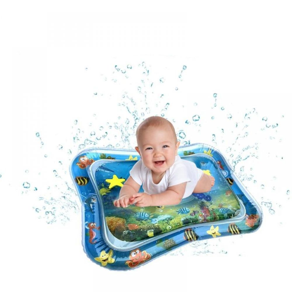 Inflatable Water Mat For Babies In 2020 Tummy Time Activities Tummy Time Toys Fun Activities For Toddlers