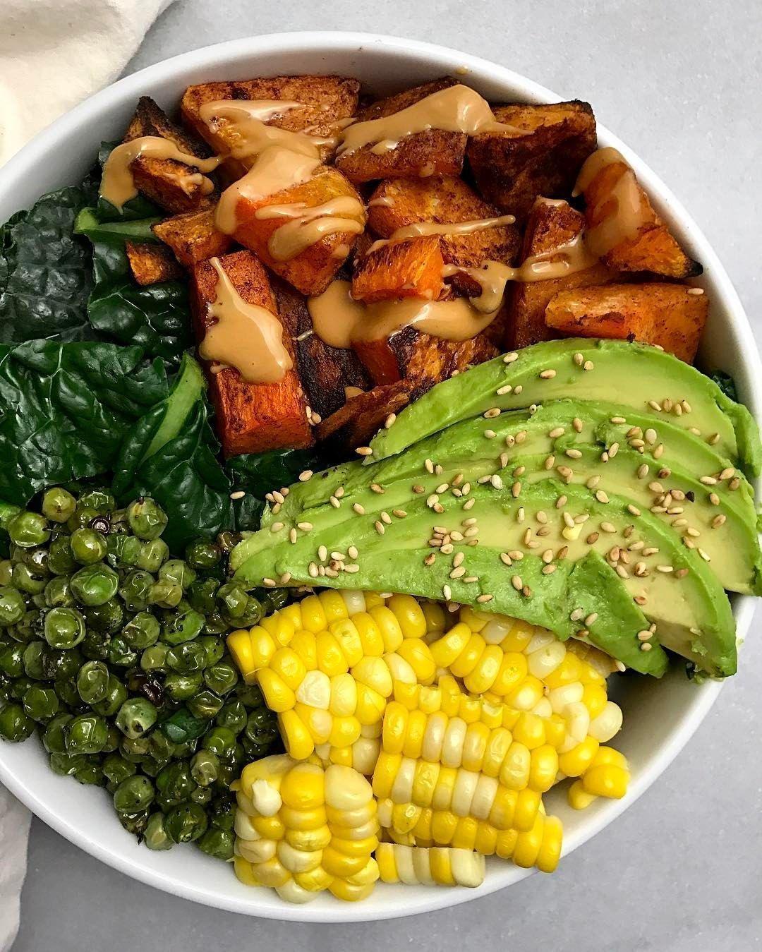 Sweet Potato Avocado Bowl Food Easy Recipes Quick Dinner Healthy Restaurant Reviews Best New Restaurants