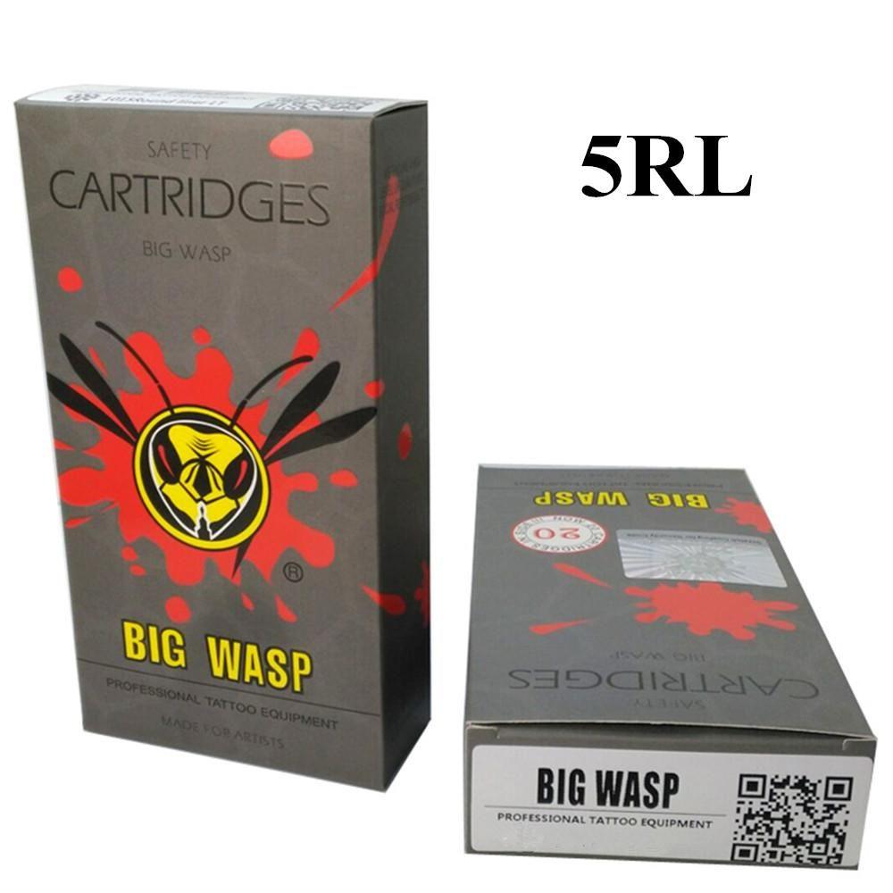 Bigwasp gray disposable needle cartridge 5 round liner