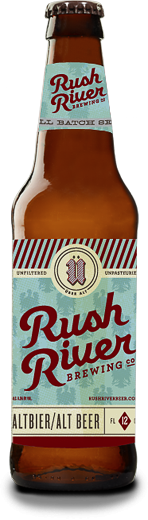 Rush River Brewing Co. Altbier Bottle