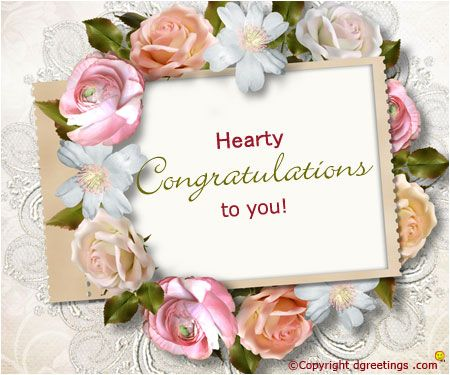 Hearty congratulations !! | Artwork | Engagement quotes