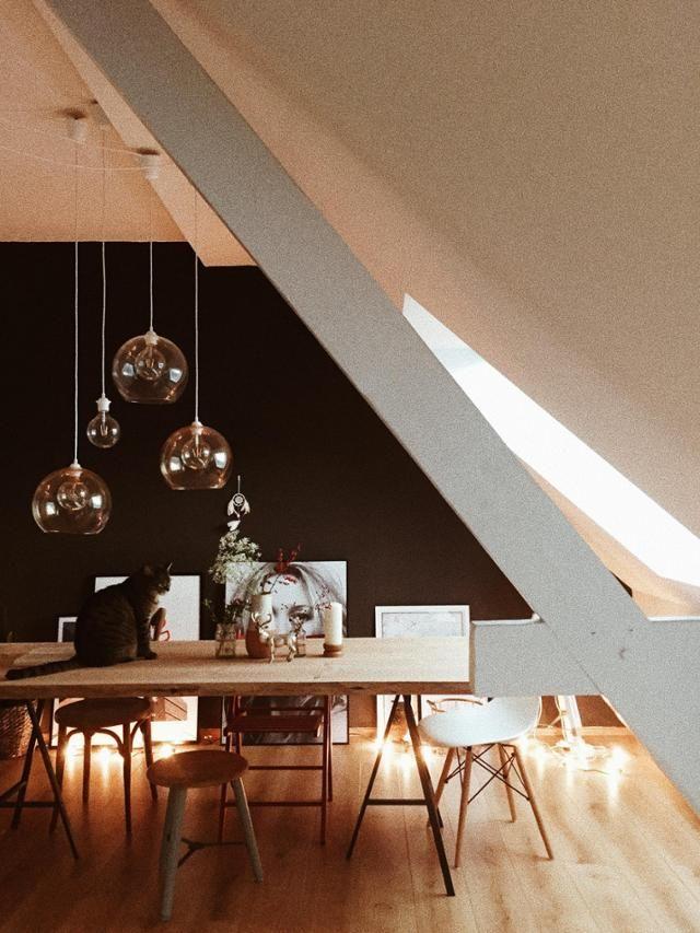 Lampe dachschräge