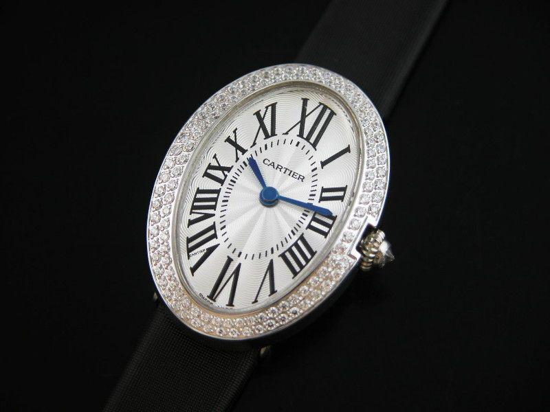 Cartier Baignoire Diamonds Lady Watch Cheap Cartier Watches
