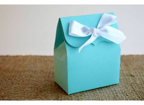 Tiffany Blue Favor Bags with Ribbon Create Your Own by SosiaToGo, $15.00