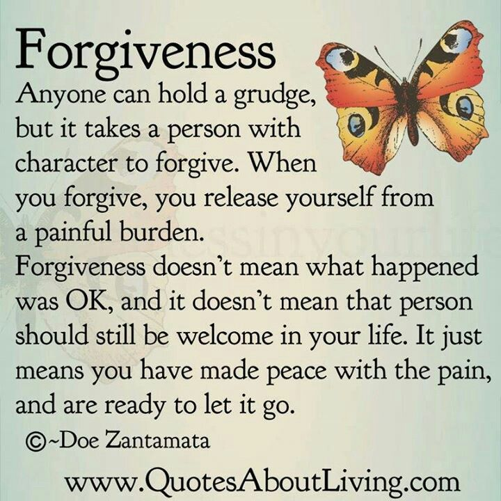 Forgiveness Anyone Can Hold A Grudge But It Takes A Person With