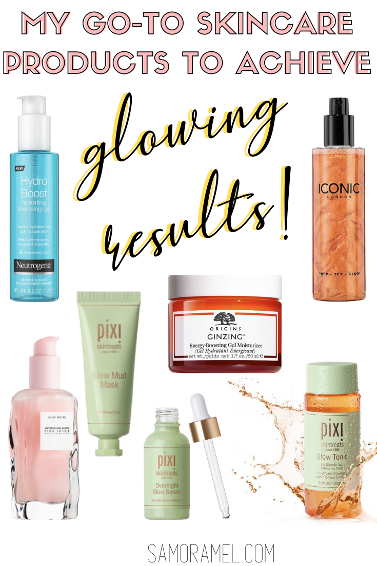 The Best Skincare Products For Glowing Skin Samoramel In 2020 Skin Care Best Skincare Products Favorite Skincare Products