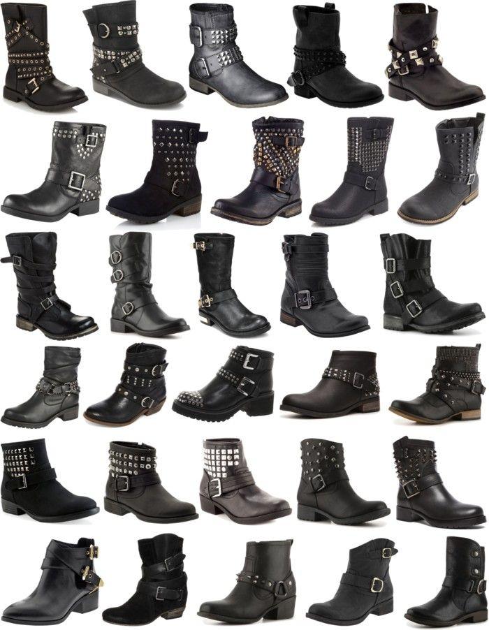 Boots Moto And Biker 靴 メンズ 靴イラスト 靴
