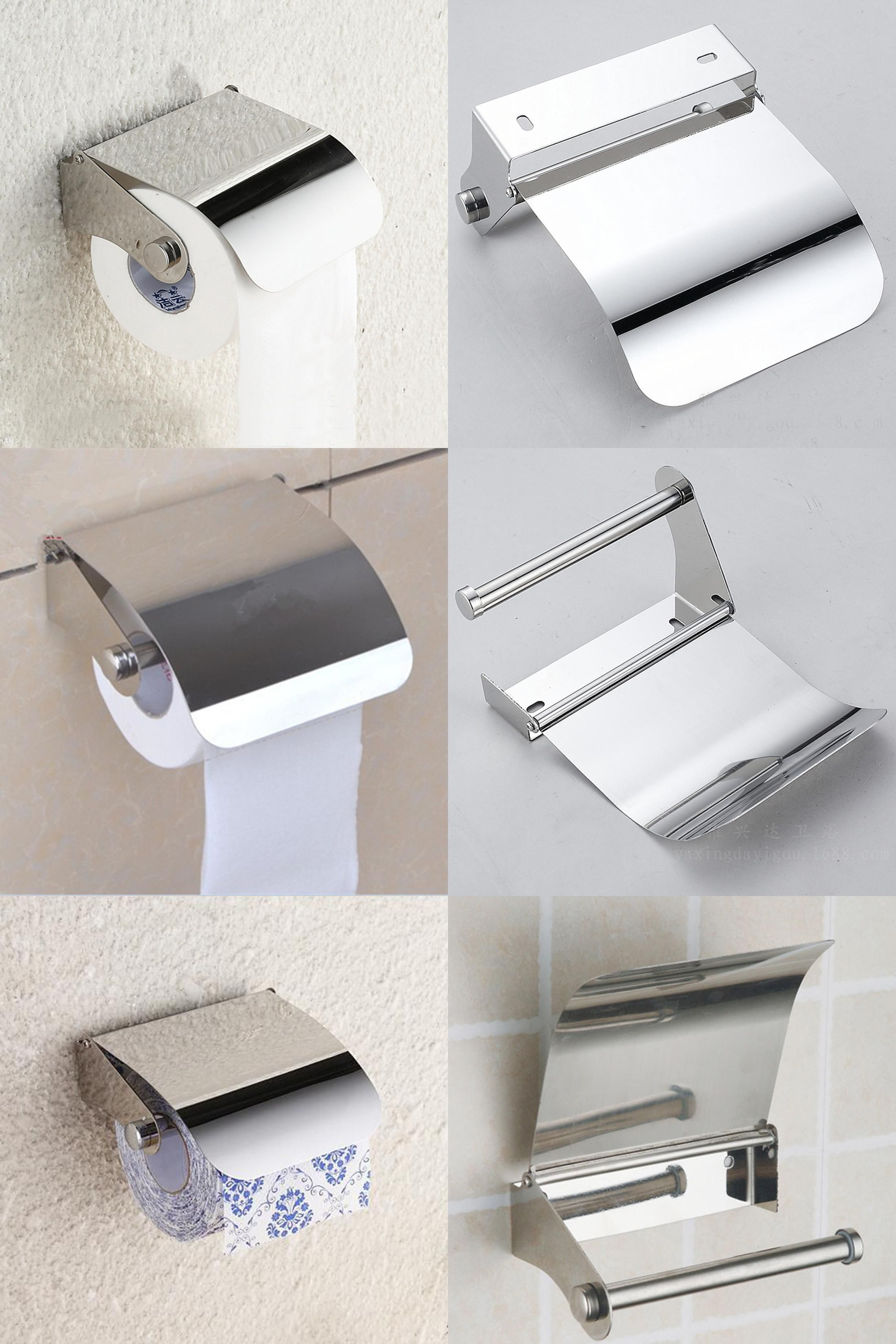 Visit to Buy] Bathroom Accessories Stainless Steel Toilet Paper Roll ...