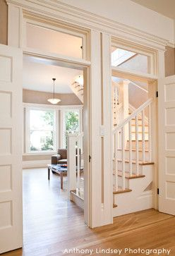 By Adding Transoms Above The Doors And High Windows Light