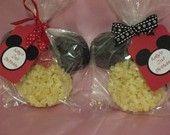 mickey/minnie mouse rice krispy treats