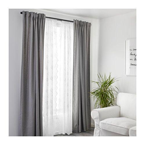 MYRTEN Lace curtains, 1 pair - IKEA | Riggs home 2018 | Pinterest ...