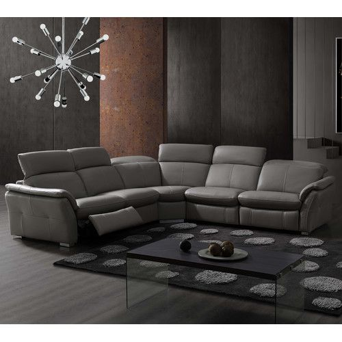 Found It At Wayfair Weston Modular Sectional With 2 Recliners