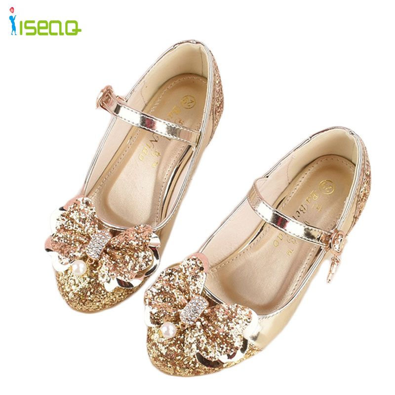 177c0e05aa Girl princess leather shoes children girls dancing shoes wedding and ...