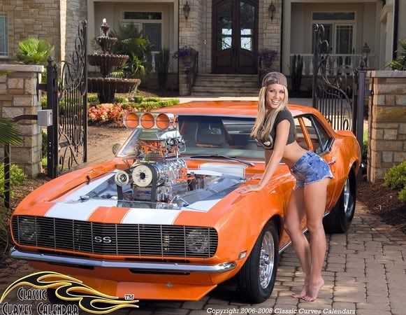 Absolutely agree muscle cars n hot ladies message