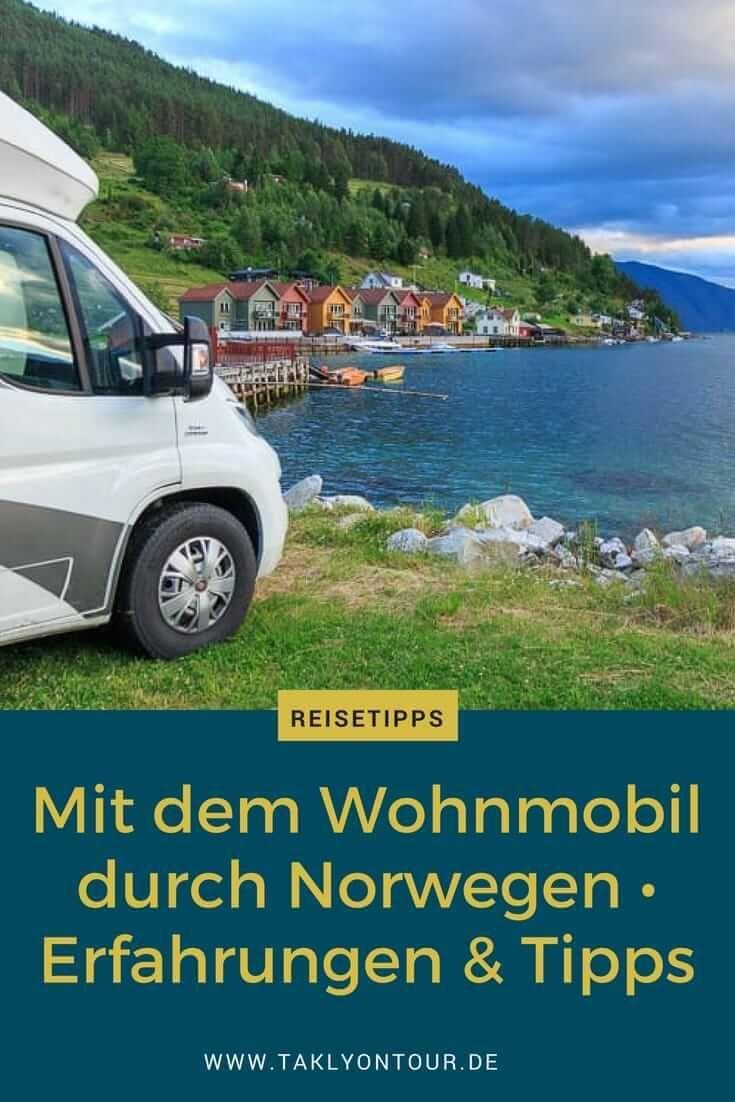 Erfahrungen & Tipps mit dem Wohnmobil in Norwegen