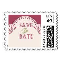 Save the Date Stamps - Customize It! #savethedate #wedding #ceremony #weddingpostage #weddingstamps #customstamps #weddingplanning #wed #bride #groom