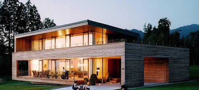 Maison ossature bois bbc chartres good design 1 for Constructeur maison passive
