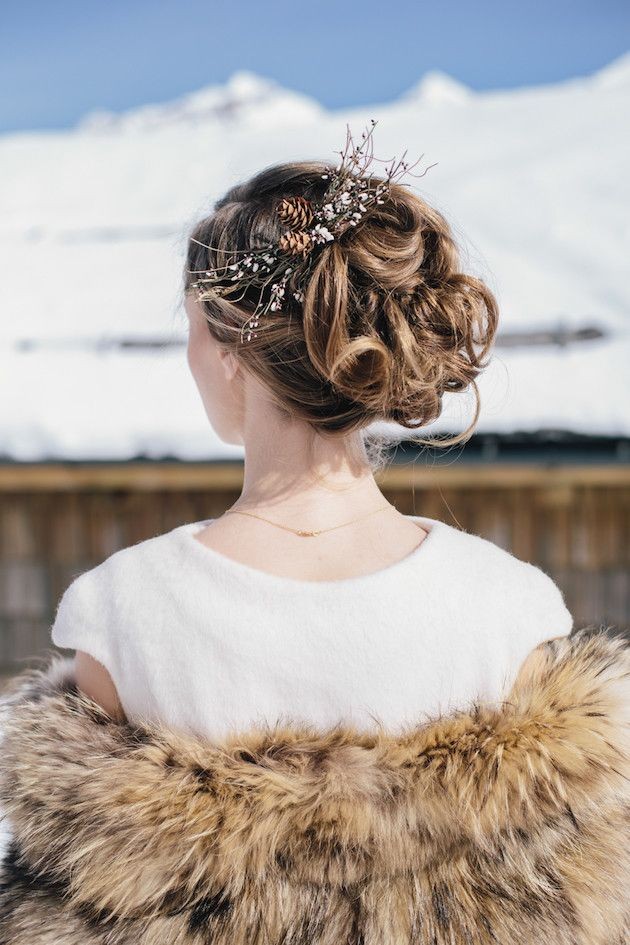 Snow Wedding Inspiration | Paola Colleoni Photography | Barbara Pederzini, Fatamadrina | Bridal Musings Wedding Blog