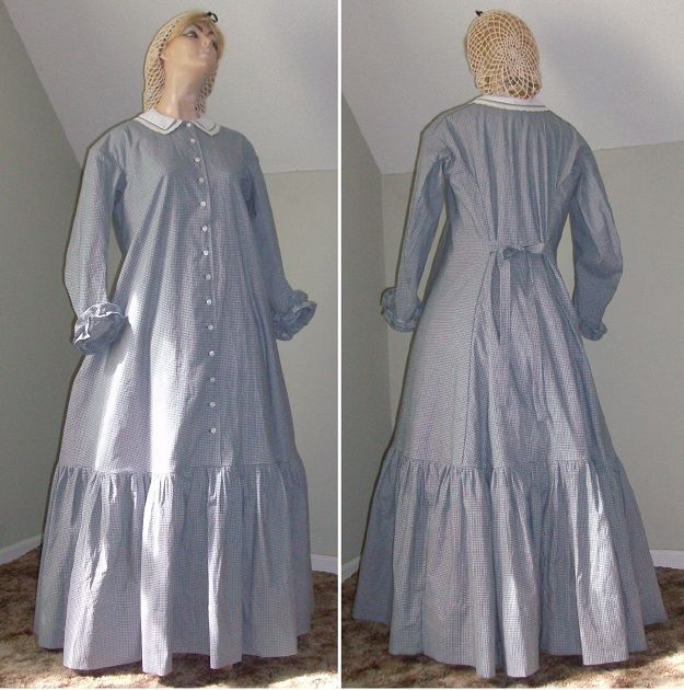 pioneer woman clothing 1800. 1830-1860\u0027s homestead or pioneer dress: buy made for about $170 woman clothing 1800