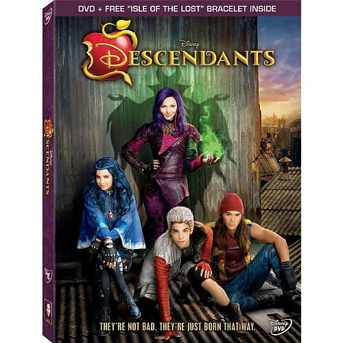 Descendants dvd dvd free isle of the lost bracelet inside sent to attend prep school alongside the children of beloved disney heroes these villainous kids must help their evil parents achieve world gumiabroncs Image collections