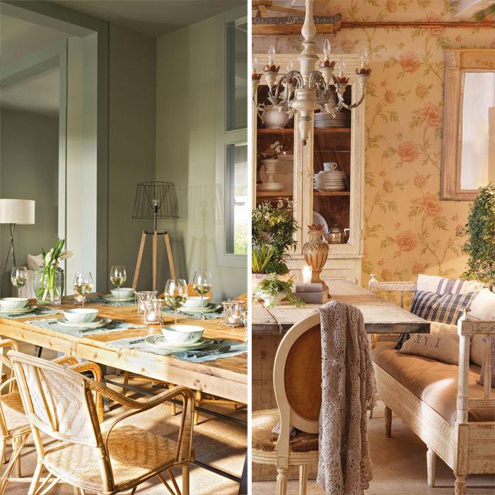 Como pintar una casa rustica amazing mg sofa con cojines - Como pintar una casa rustica ...