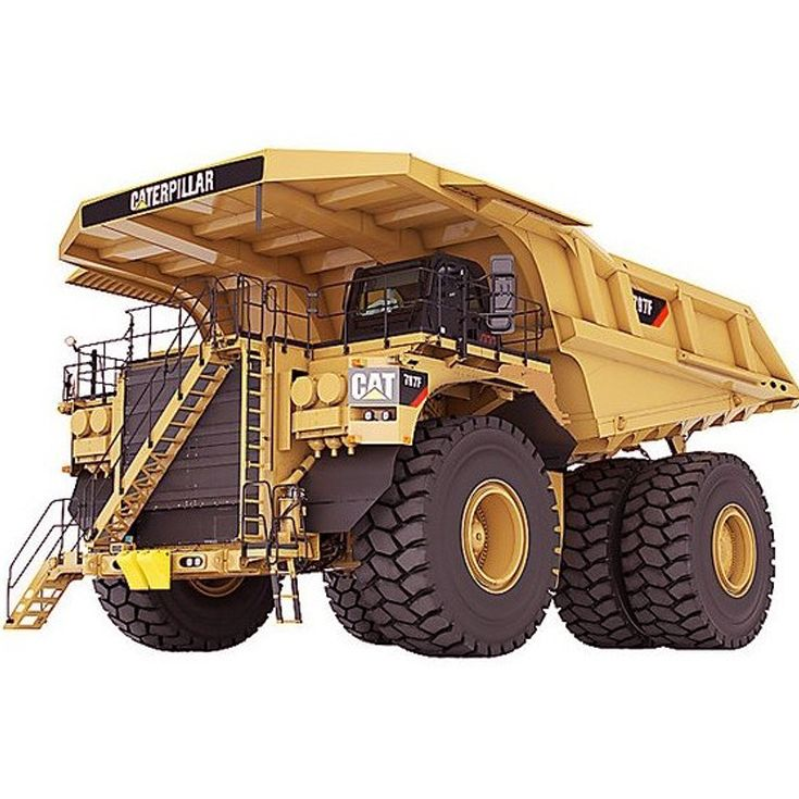 A huge truck or a big hybrid diesel earth mover can help