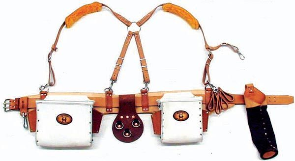 graber tool belts amish soft tanned leather