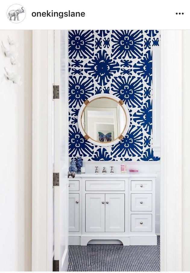 Best Wallpaper For Small Spaces And Tiny Rooms In Home Bathrooms