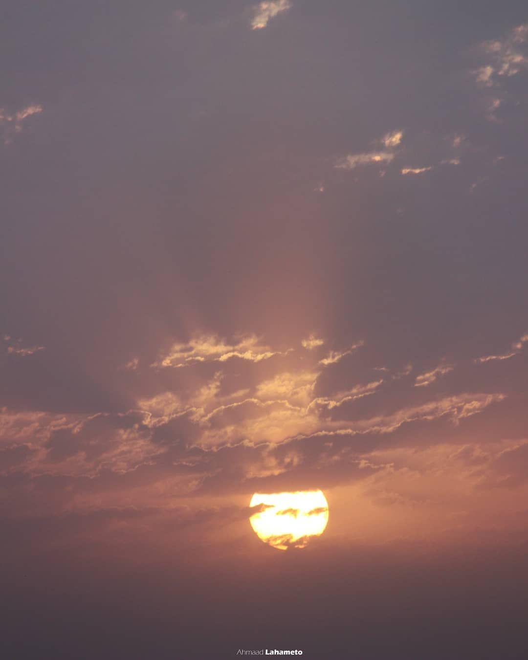 صورة من شروق شمس اليوم ٠ ٠ ٠ Instagood Instagram Sunrise Sun Ramadan Nice Photography Filmphotography Picoftheday Pi Pictures Celestial Clouds
