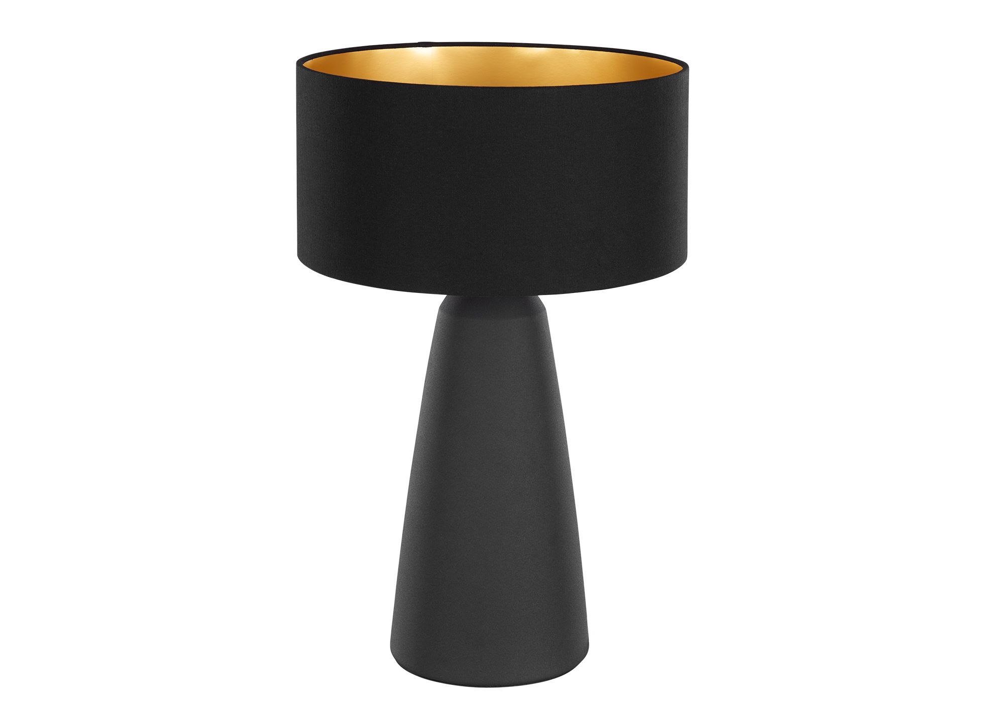 made metal table lamp black gold express delivery cotton vera table lamps collection from. Black Bedroom Furniture Sets. Home Design Ideas