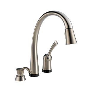 Delta Faucet, Pilar Single Handle PullDown Kitchen Faucet